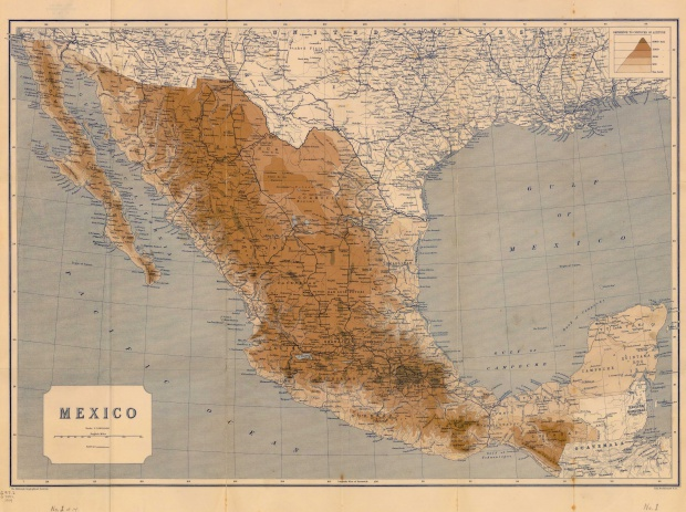 General Map of Mexico