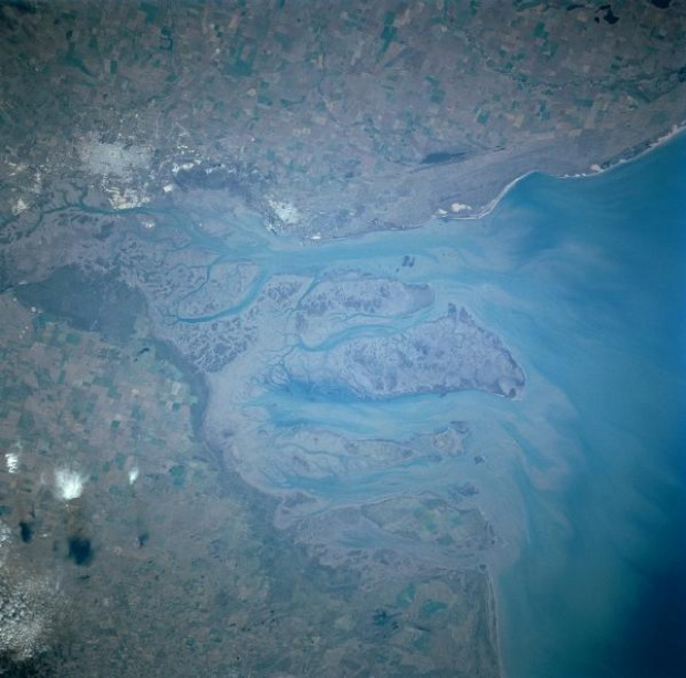 Mapa Satelital de Bahía Blanca, Punta Alta, Argentina