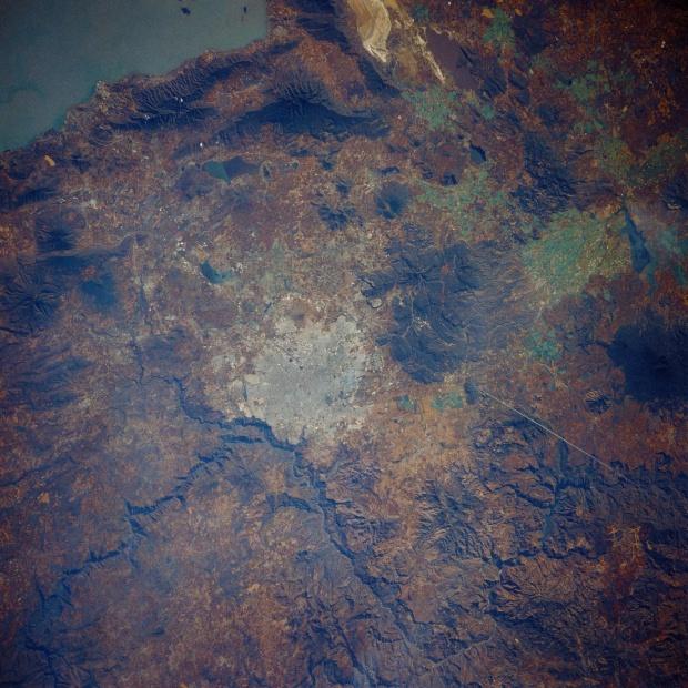 Mapa Satelital de Guadalajara, Mexico