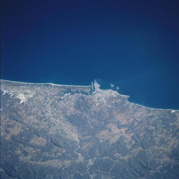 Mapa Satelital de Mazatlan, Sinaloa, Mexico