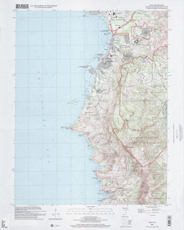 Mapa Topográfico de la Región de Agat
