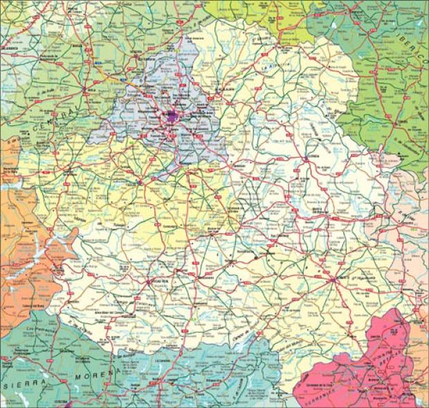 Mapa de Carreteras de Castilla-La Mancha