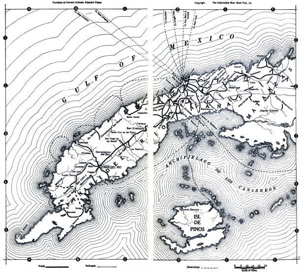 Cuba Map 1919
