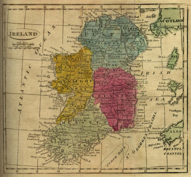 Ireland Map 1808