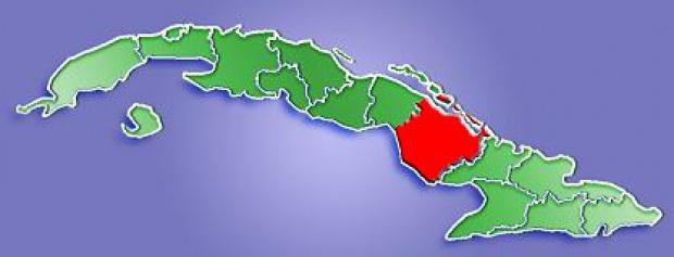 Mapa de Localización Provincia de Camagüey, Cuba