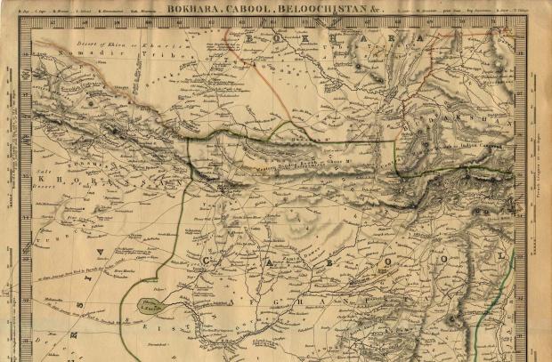 Mapa de la Parte Norte de