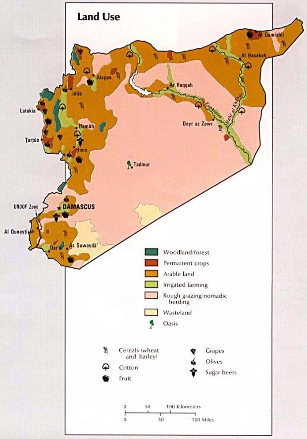 Syria Land Use Map