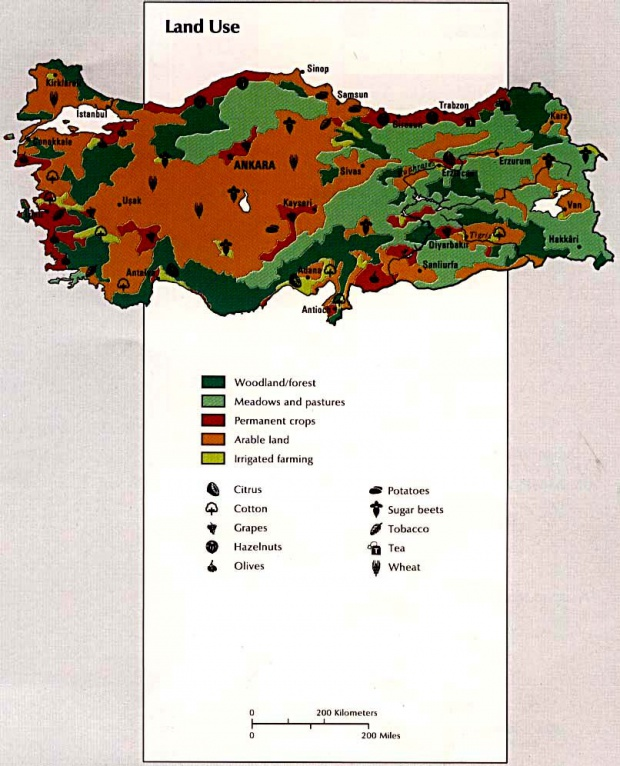 Turkey Land Use Map