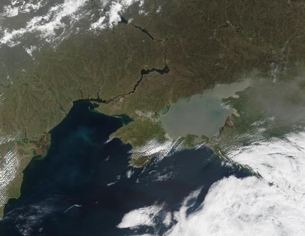 Mar de Azov, Crimea y mar Negro, Ucrania
