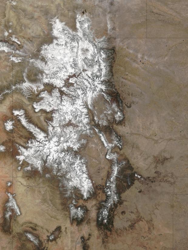 Nieve en Colorado (antes de la nevasca)