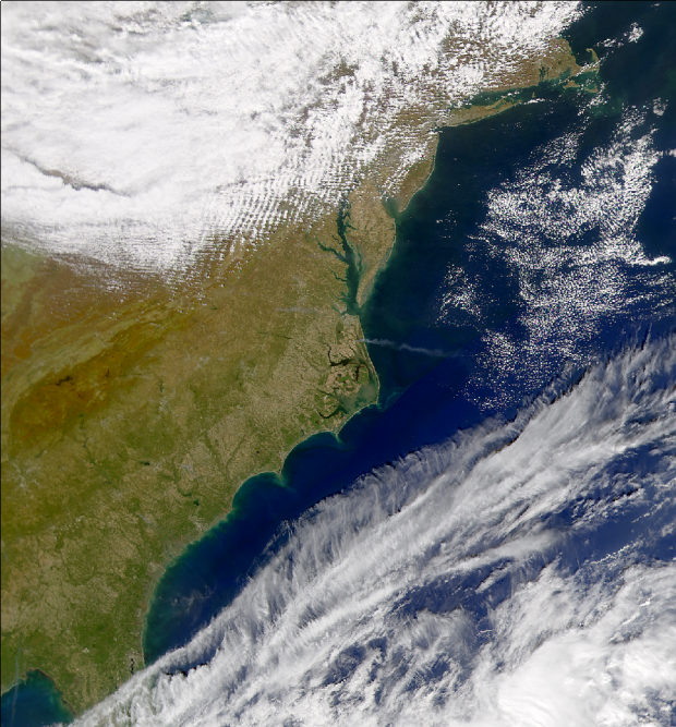 North Carolina Smoke Plume