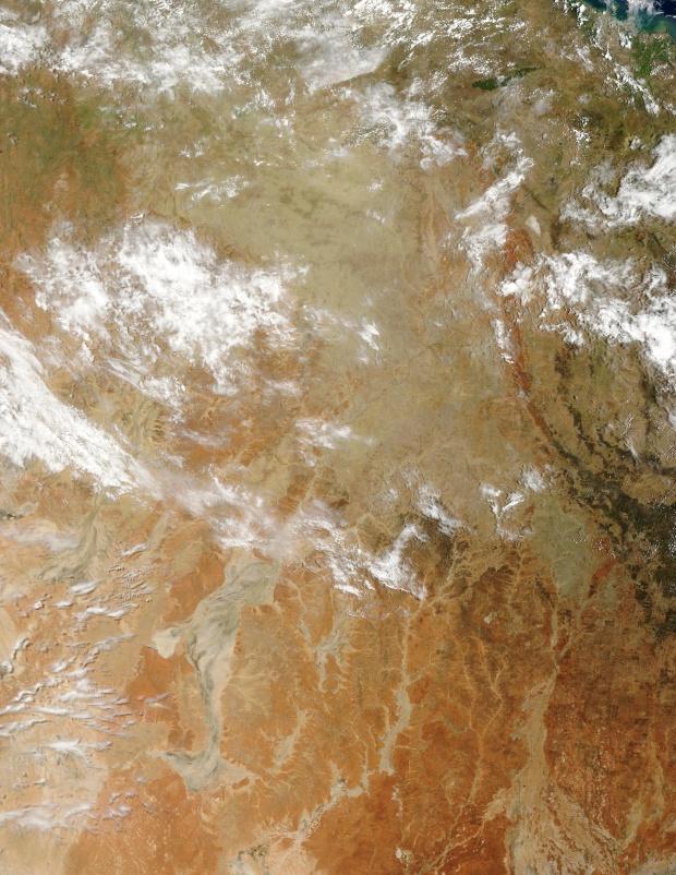 Queensland, Australia (antes de las inundaciones)