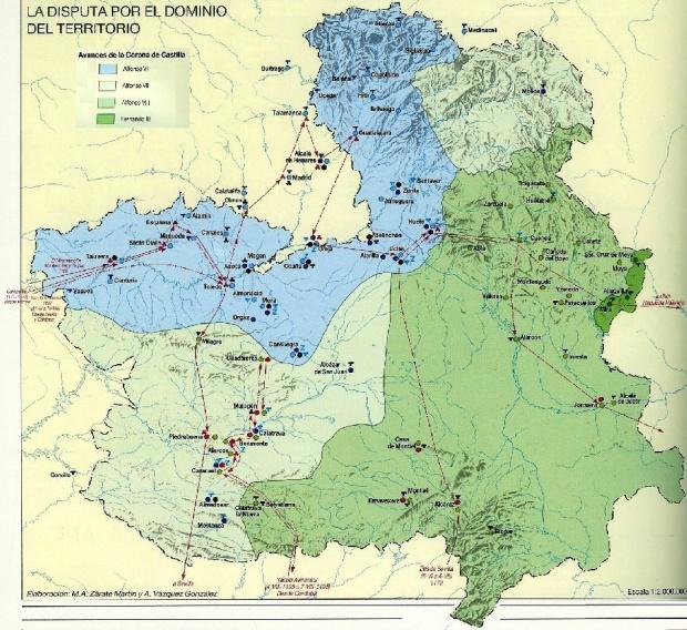 Reconquista en Castilla-La Mancha 1233