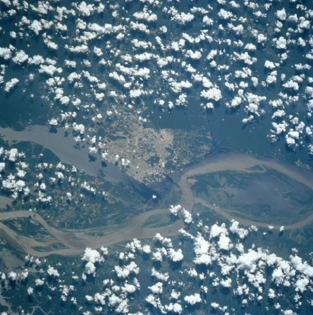 Satellite Image, Photo of Manaus, Brazil