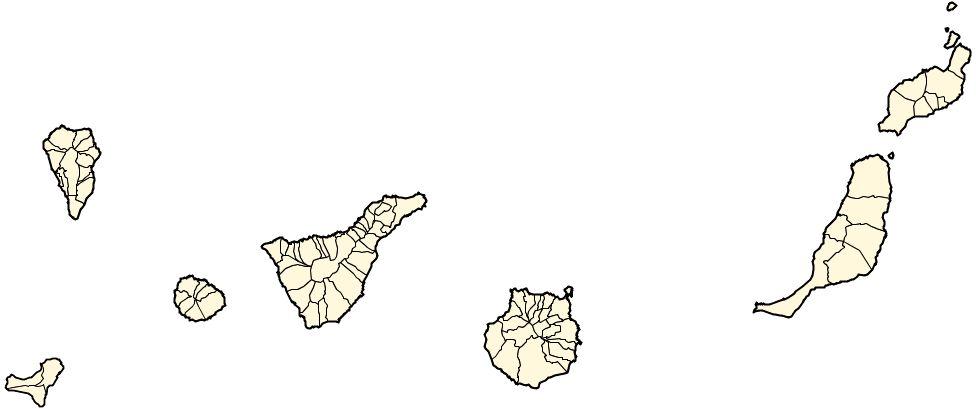 Municipios de las Islas Canarias 2006