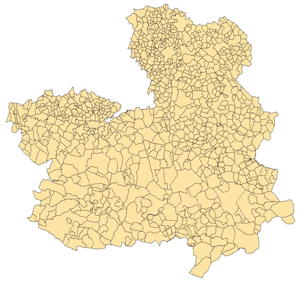 Municipios de Castilla-La Mancha 2003