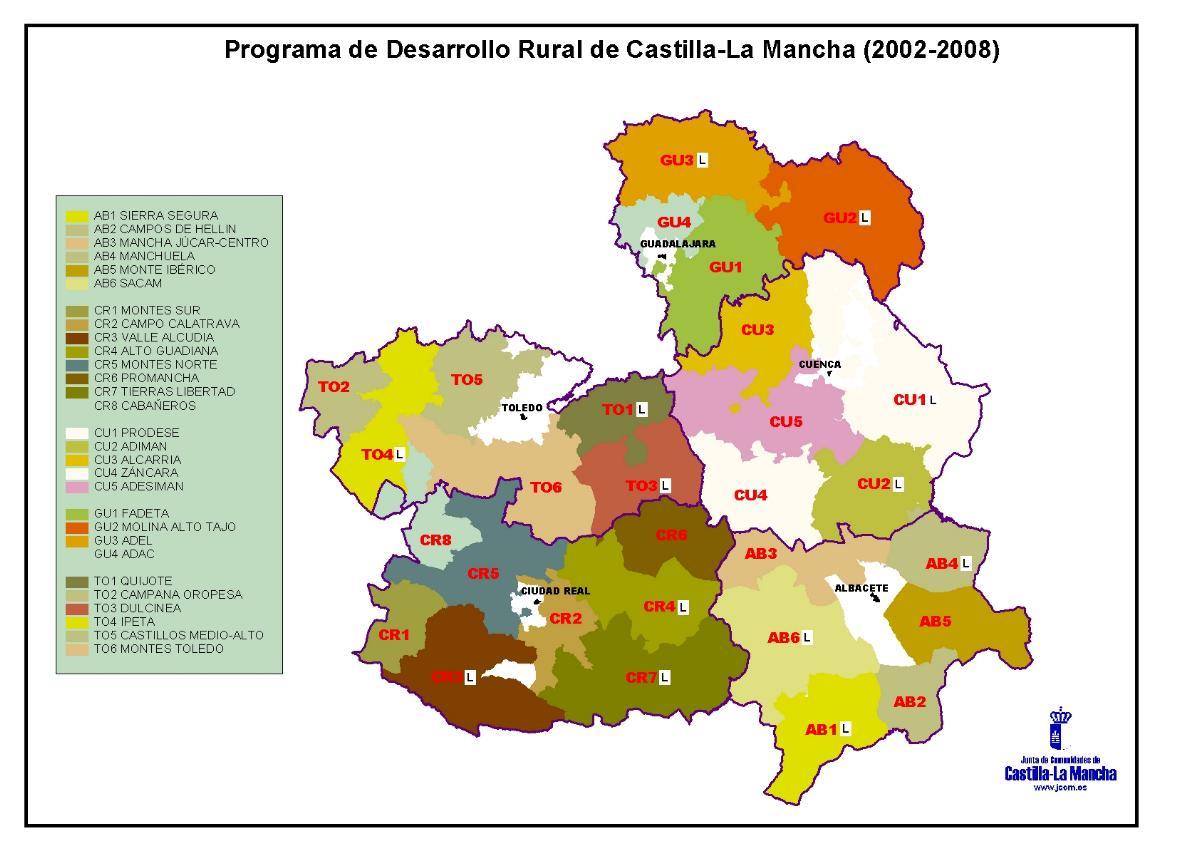 Desarrollo Rural de Castilla-La Mancha 2002-2008