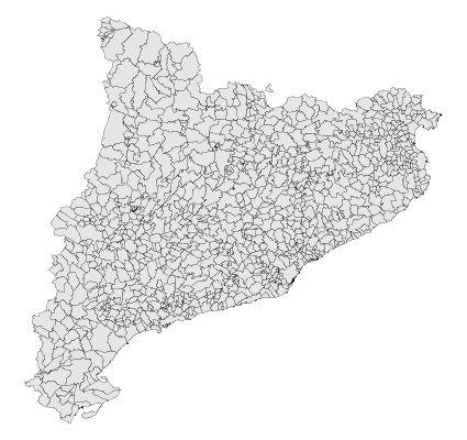Catalonia municipalities