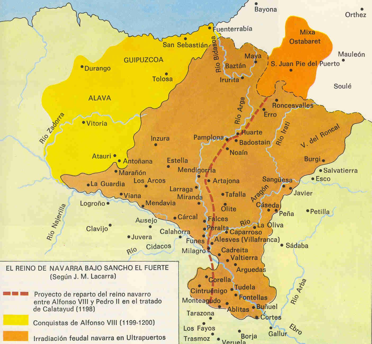 Reino de Navarra bajo Sancho VII