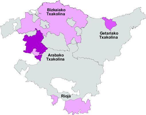 Vinos del País Vasco 2007