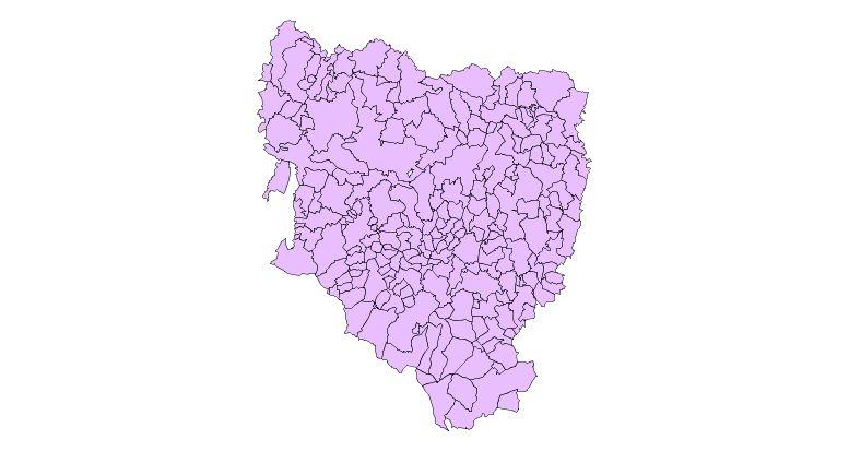 Municipios de la provincia de Huesca 2003