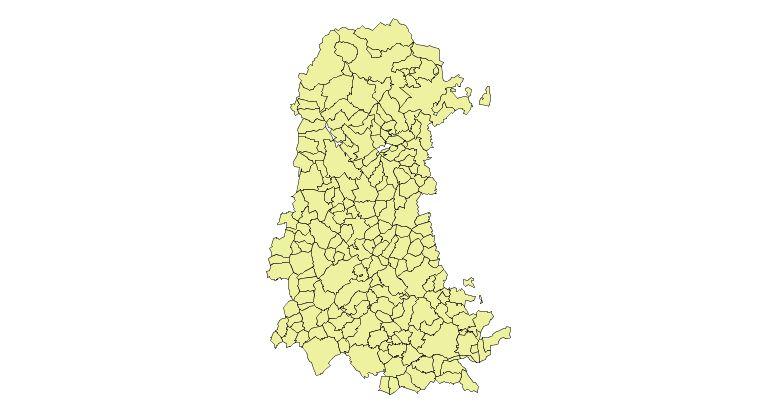 Municipios de la Provincia de Palencia 2003