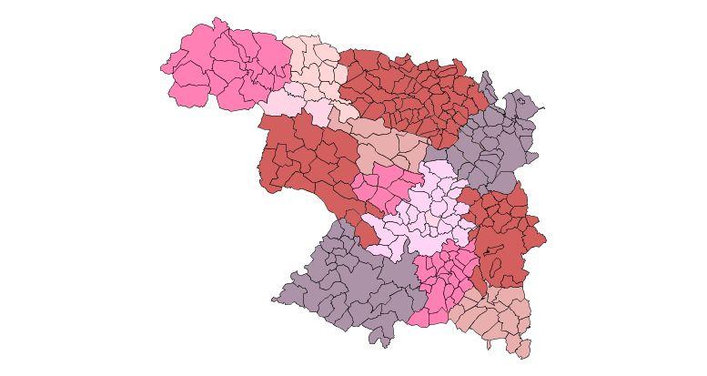 Comarcas de la Provincia de Zamora 2009