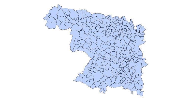 Municipalities of the Province of Zamora 2003