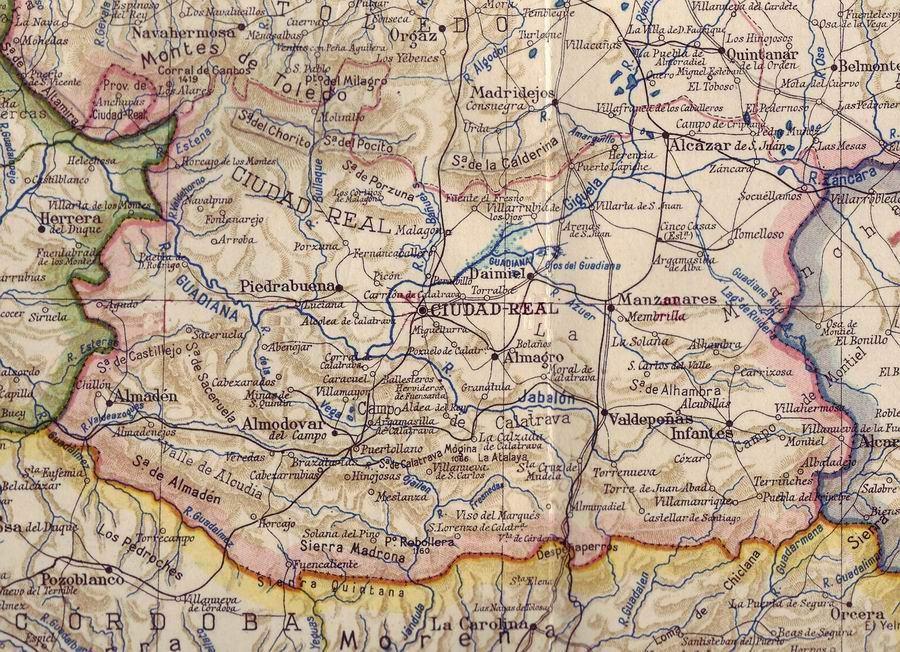 Provincia de Ciudad Real en 1938