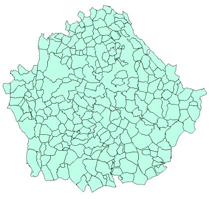 Municipalities of the Province of Cuenca 2003