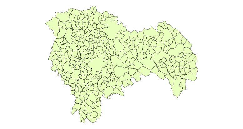 Municipios de la Provincia de Guadalajara 2003