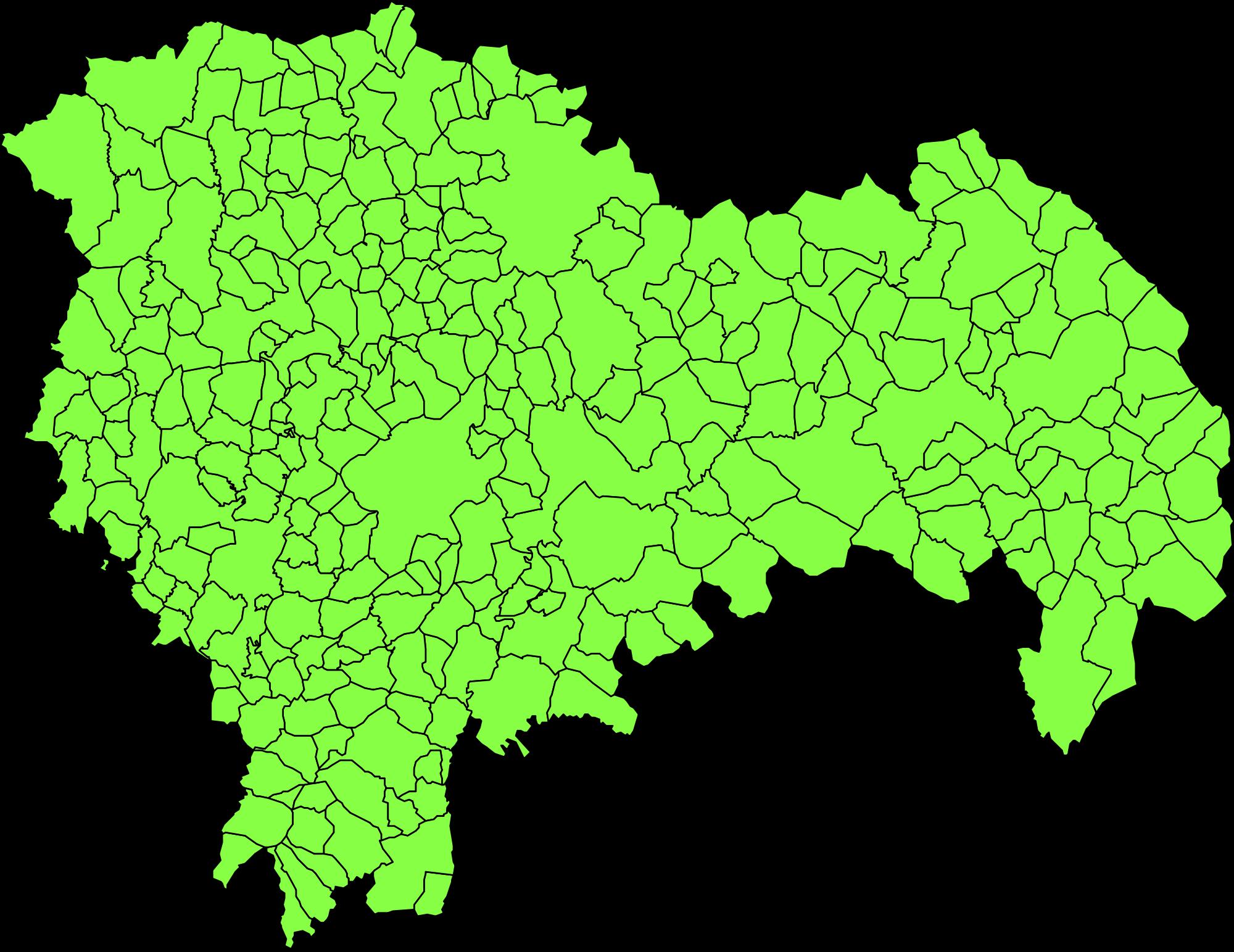 Municipios de la Provincia de Guadalajara 2008