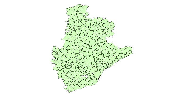 Municipios de la Provincia de Barcelona 2003