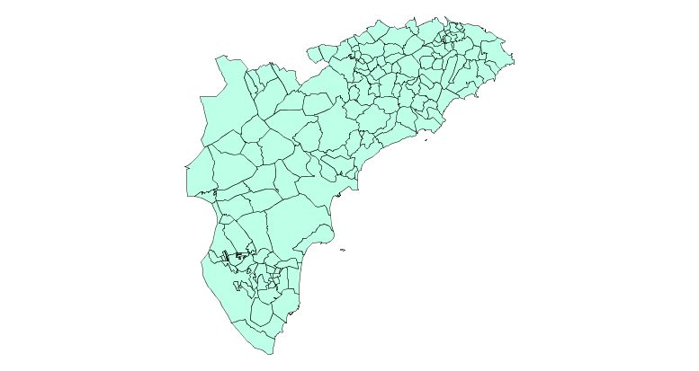 Municipios de la Provincia de Alicante 2003