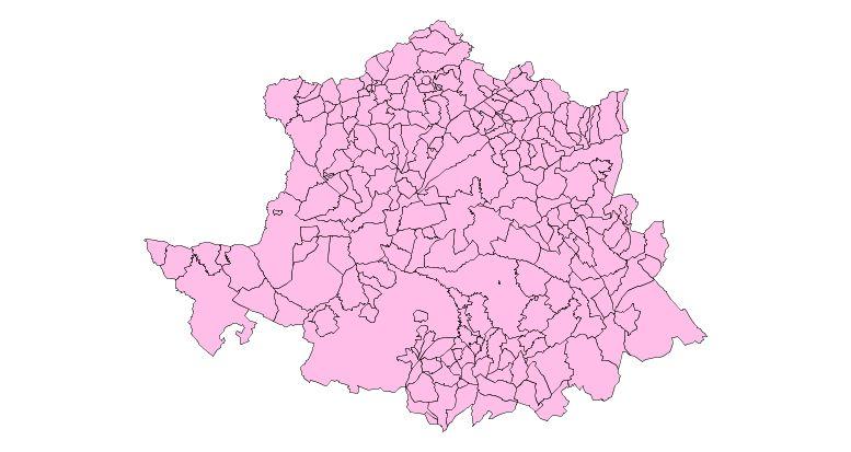 Municipios de la Provincia de Cáceres
