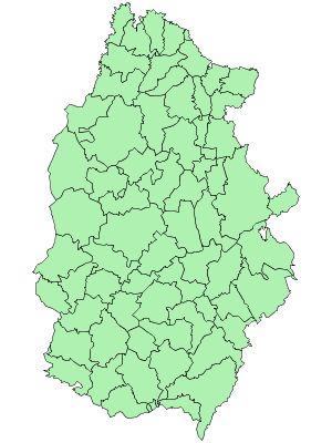 Municipios de la Provincia de Lugo 2003