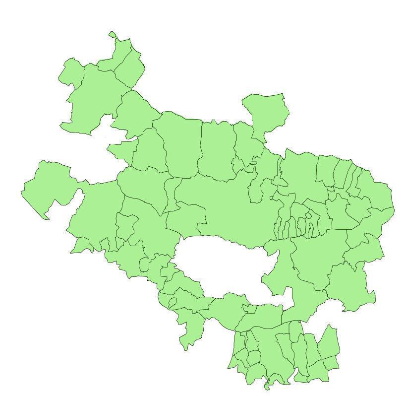 Municipalities of Álava 2005