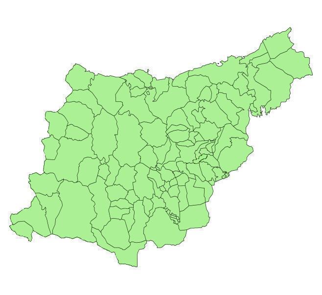 Municipios de Guipúzcoa 2005