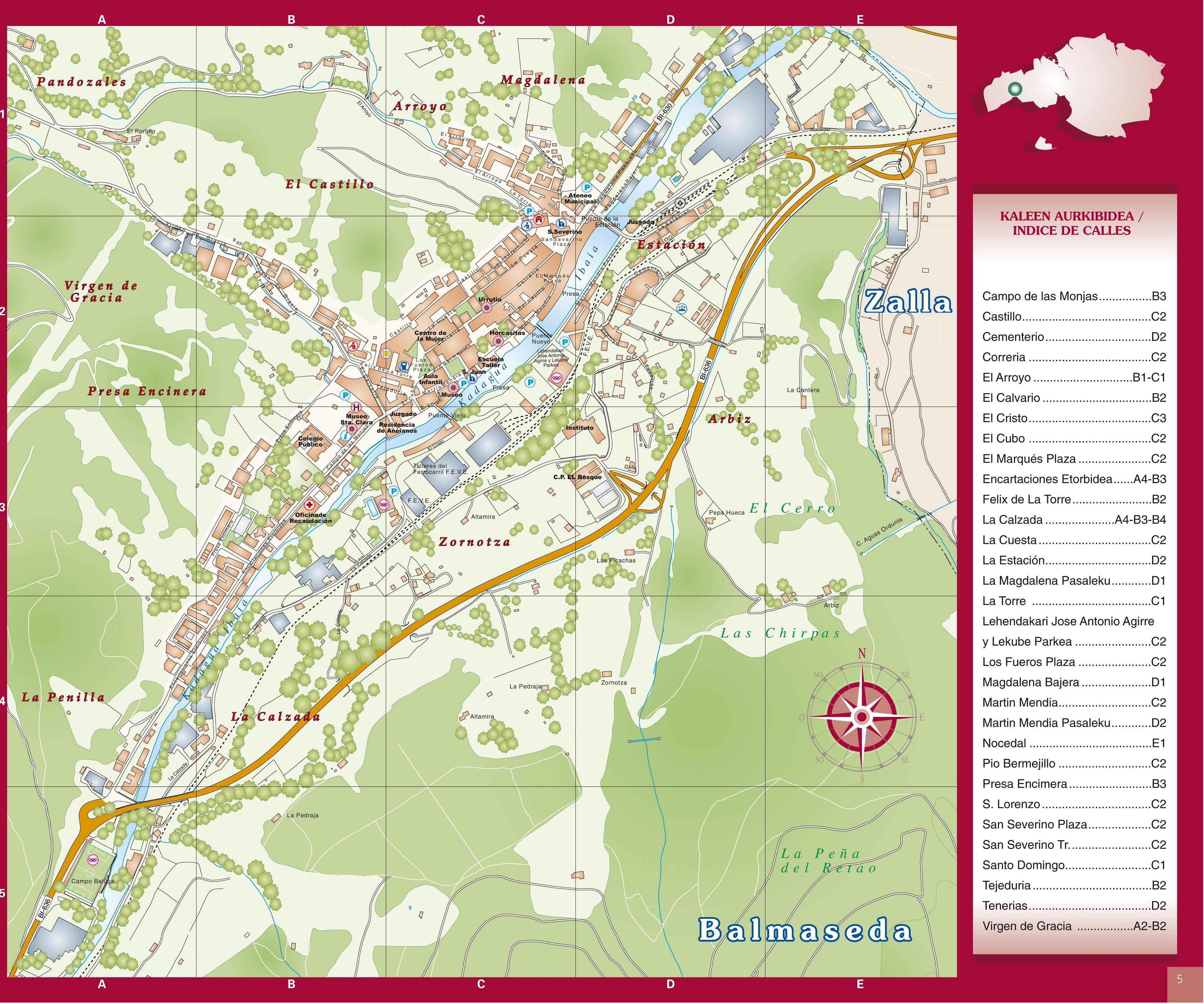 Balmaseda map 2004