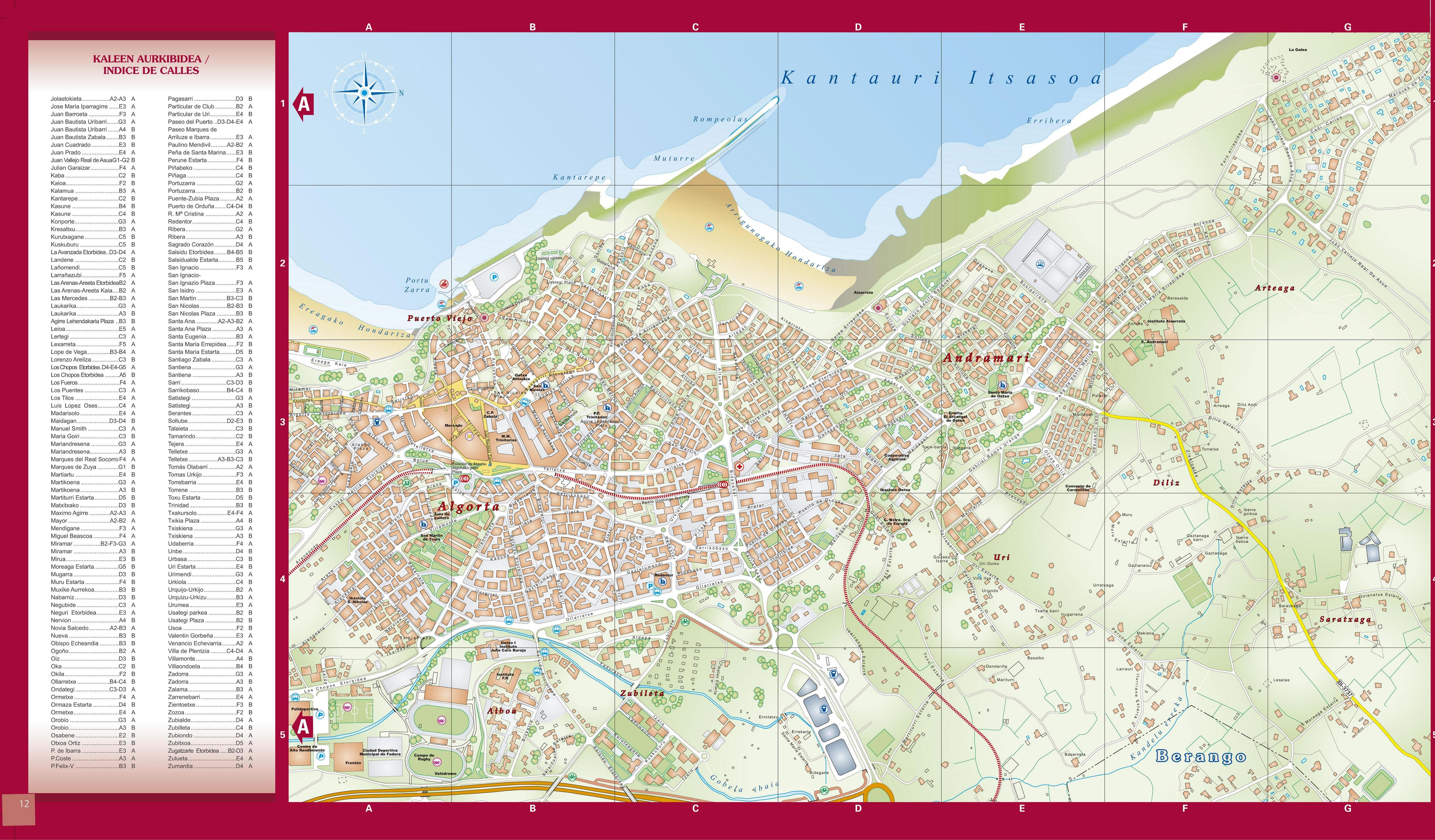 Getxo map (1) 2004