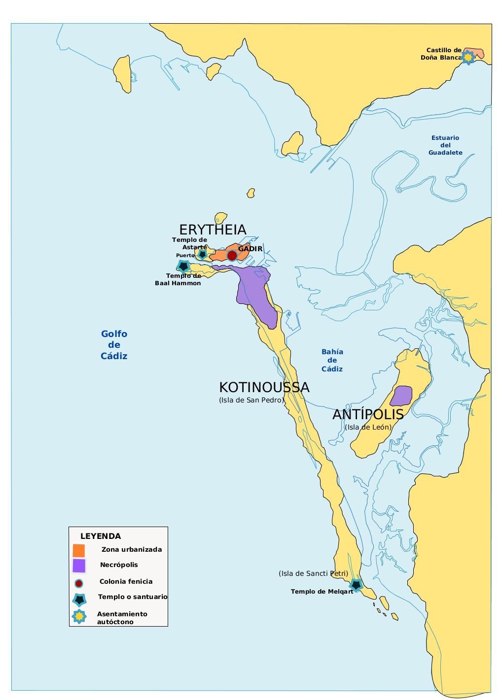 Islas Gadeiras, hace 2000-3000 años