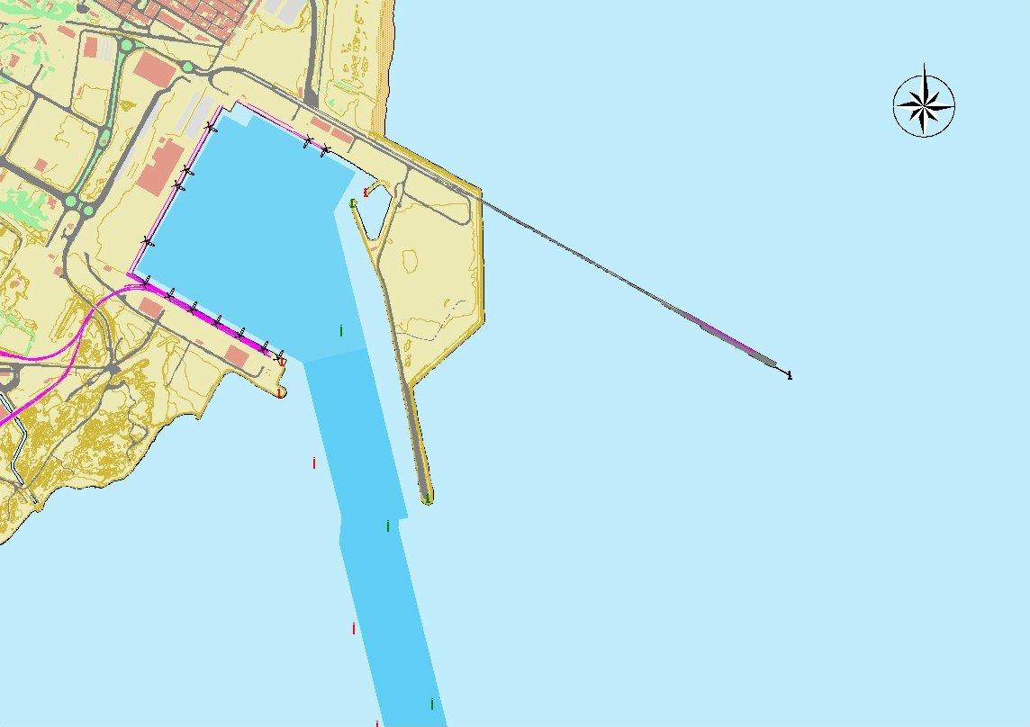 Sagunto port map
