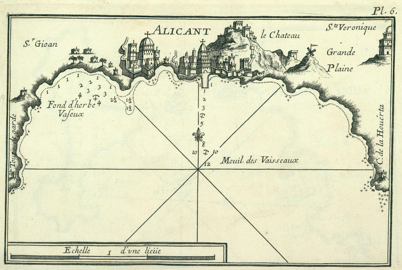 Alicante en 1764
