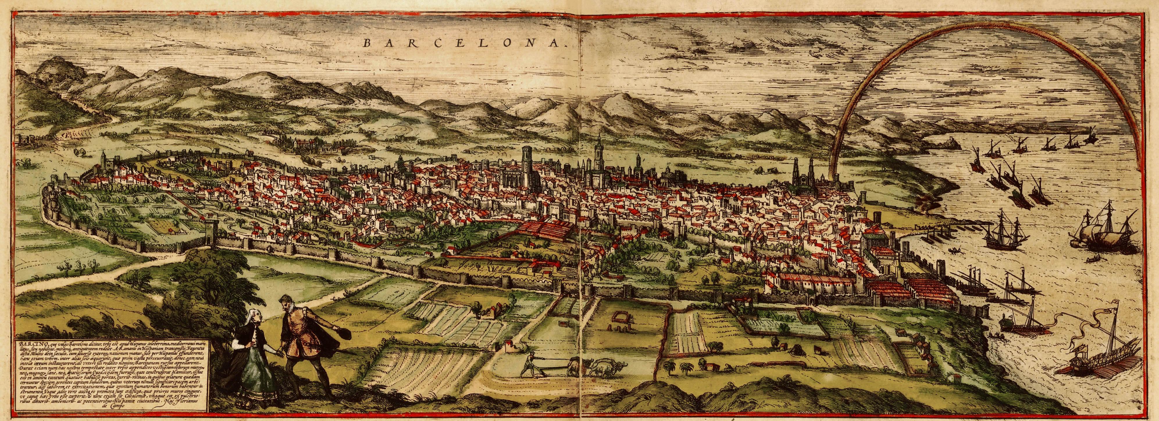 Barcelona in 1593