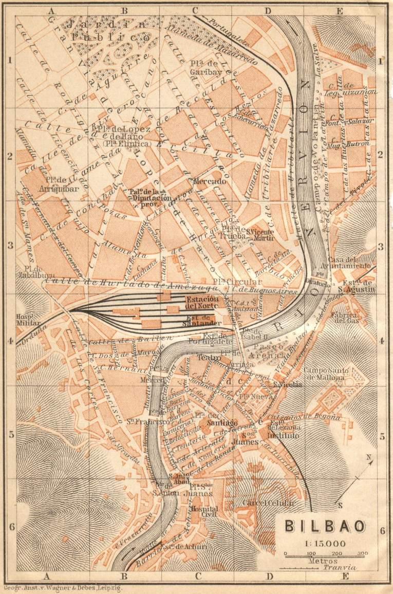 Bilbao en 1901