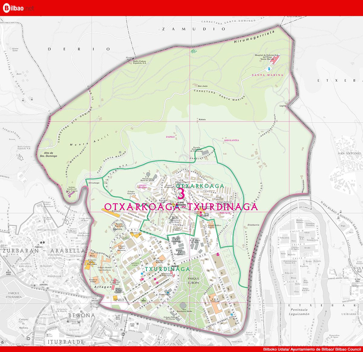 Otxarkoaga-Txurdinaga district