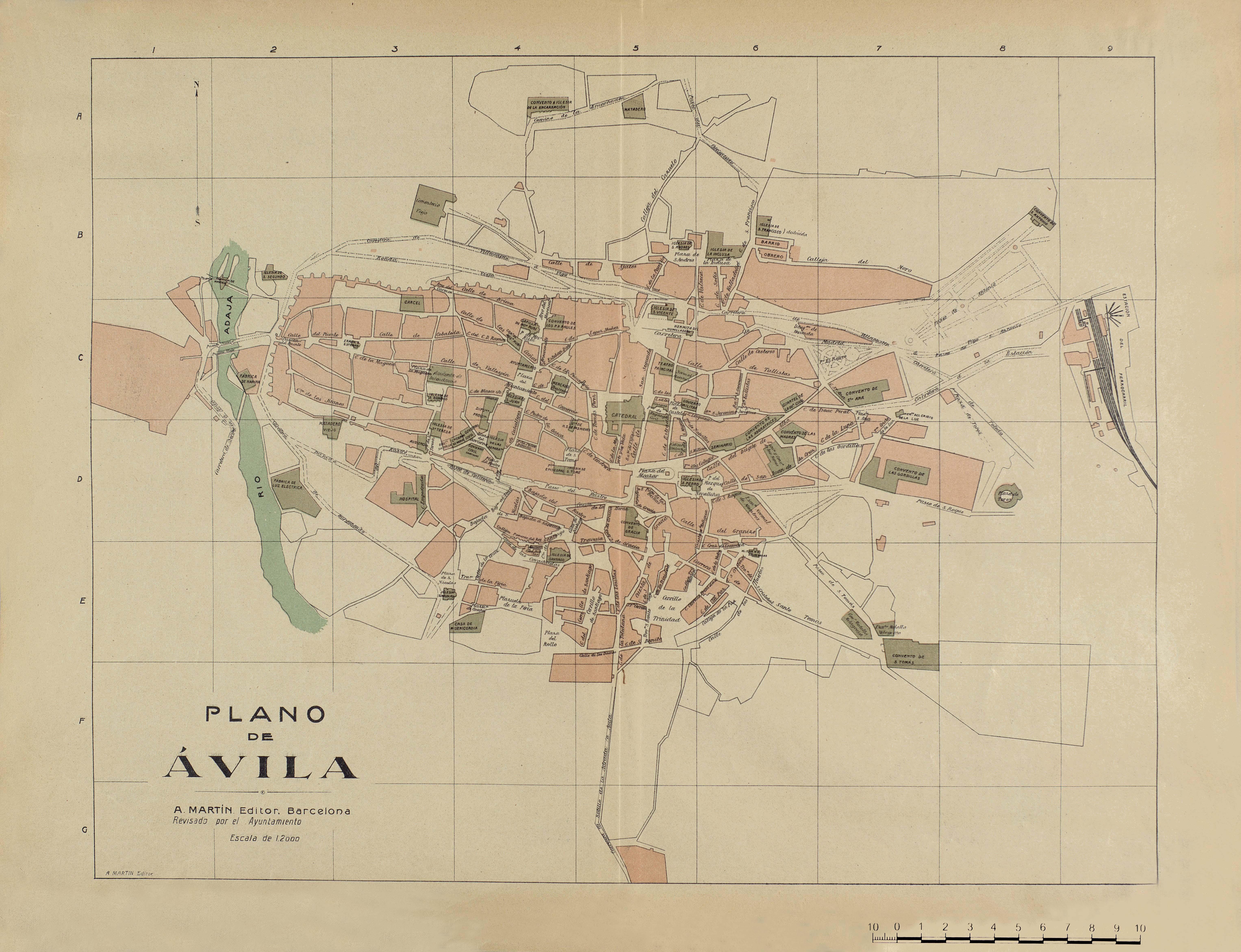 Plano de Ávila