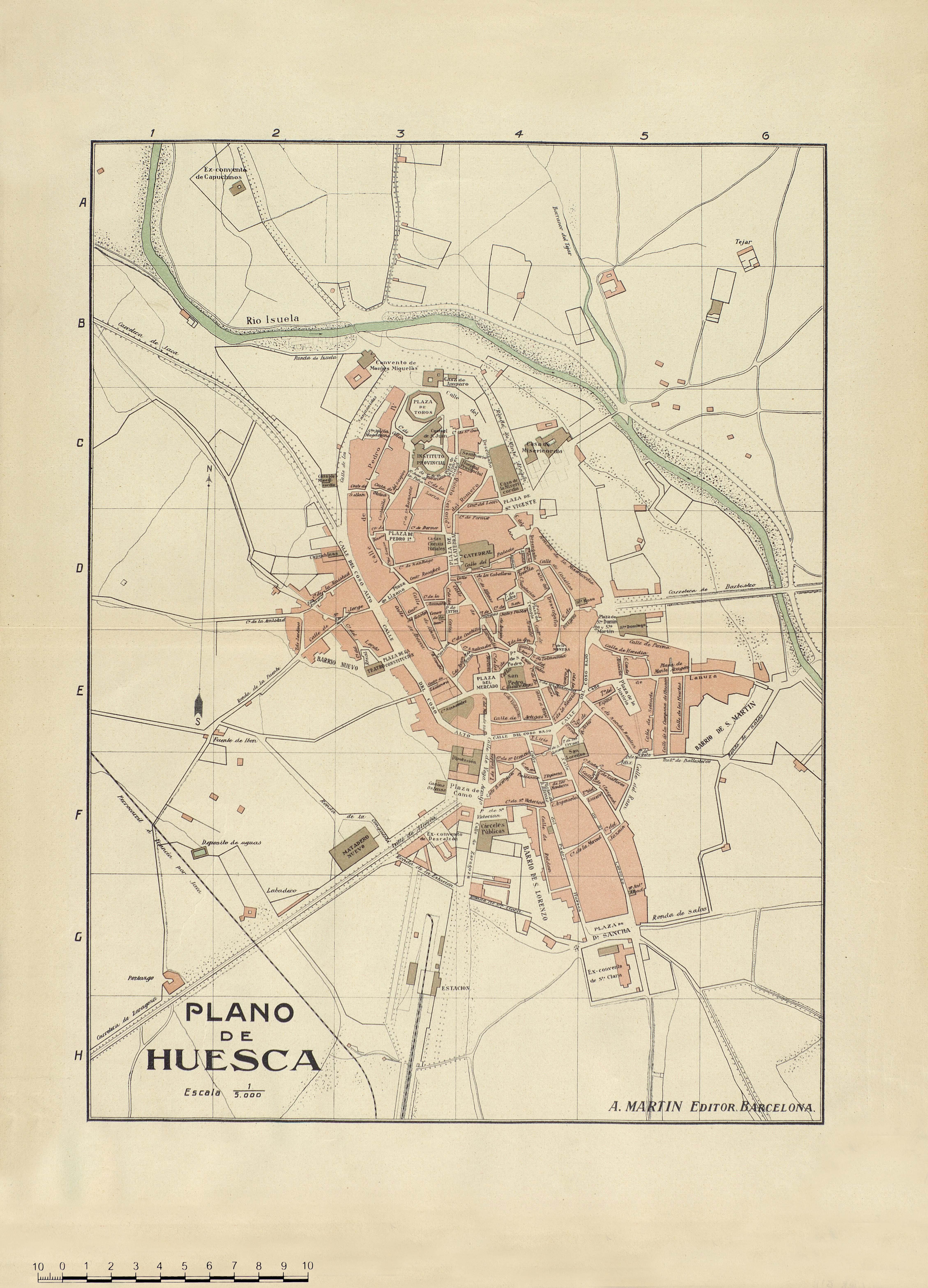 Plano de Huesca