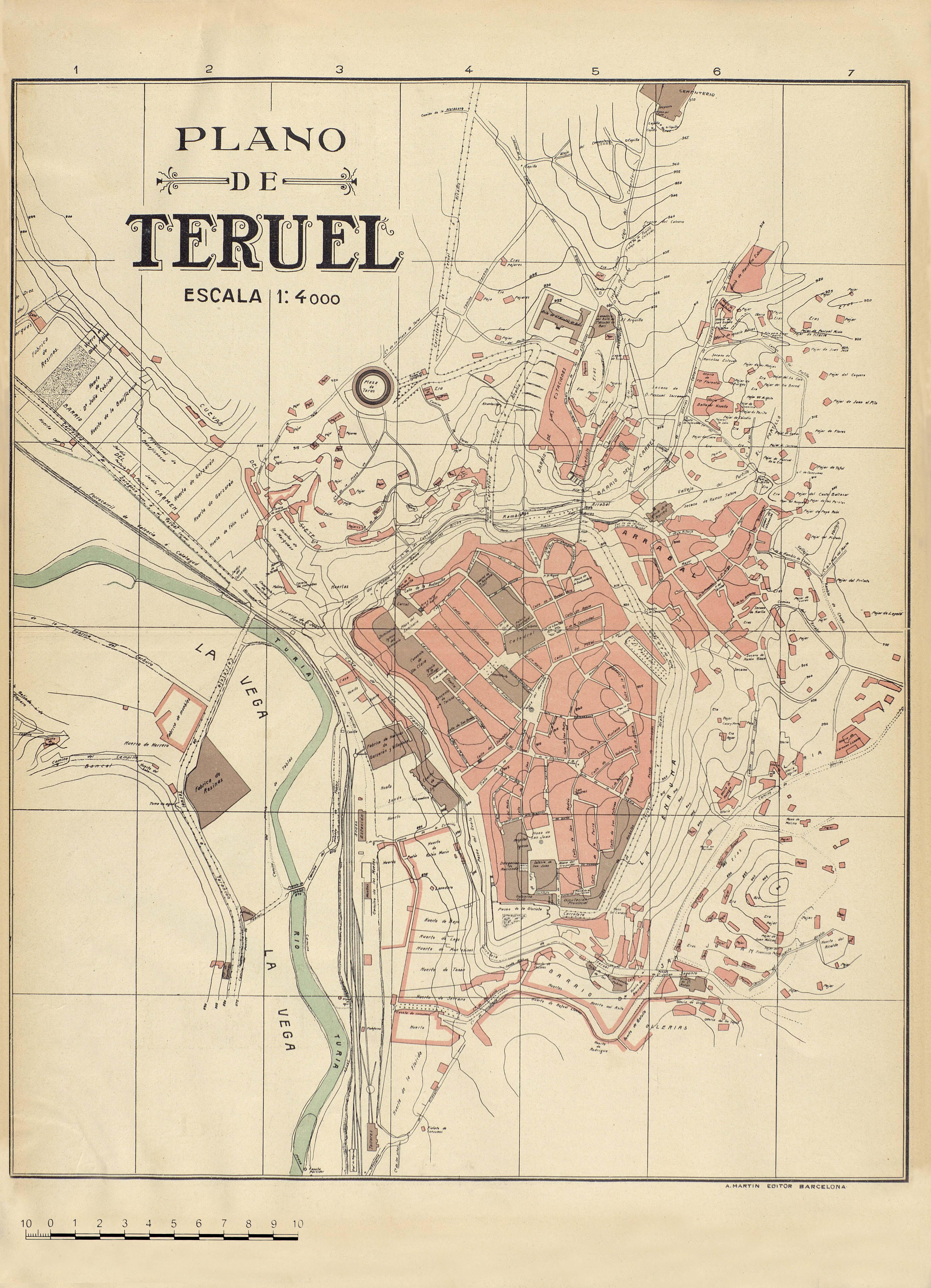 Plano de Teruel