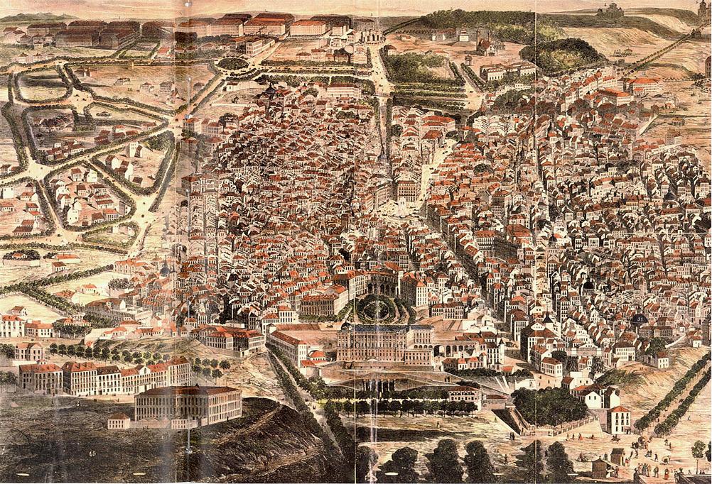 Plano de Madrid 1873